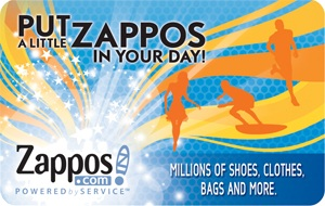 Free Zappos Com 25 Gift Card Rewards Store Swagbucks