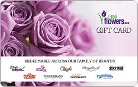 1-800-Flowers $50 Gift Card