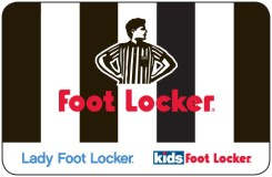 Foot Locker $25 Gift Card