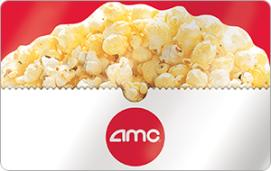 AMC Theaters $50 Gift Card