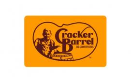 Cracker Barrel Old Country Store $10 Gift Card
