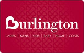 Burlington $10 Gift Card