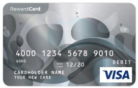 Visa $100 Reward Card