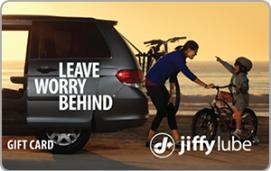 Jiffy Lube $100 Gift Card