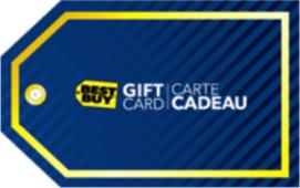 Best Buy eGift Card - $50 CAD
