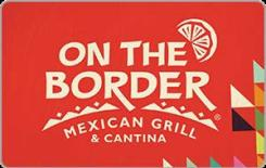 On The Border $5 Gift Card