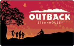 Outback Steakhouse $50 Gift Card