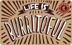 Chipotle $10 Gift Card