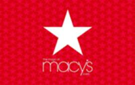 Macy's $10 eGift Card