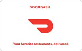 DoorDash $50 Gift Card