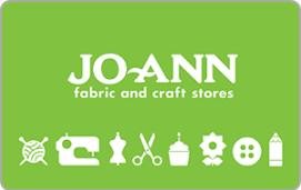 JoAnn Fabric and Craft Stores $15 Gift Card