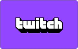 Twitch $15 Gift Card