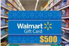 $500 Walmart Gift Card Giveaway