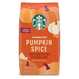 Pumpkin Spice Ground Coffee - Any Brand