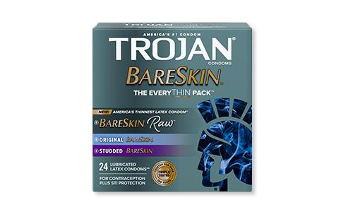 Trojan™ BARESKIN™ Raw™ The EveryTHIN Pack™