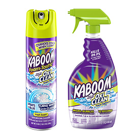 KABOOM...and you have a clean bathroom