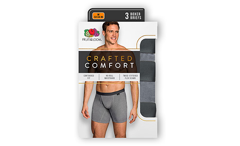 Fruit of the Loom® Crafted Comfort
