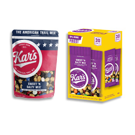 America's #1 selling branded trail mix!