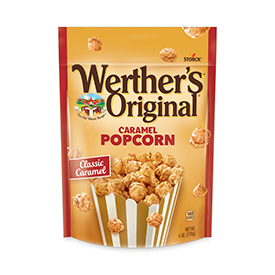 Light and crunchy popcorn covered in deliciously sweet caramel.
