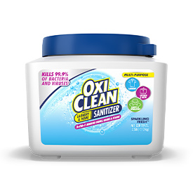 Kills 99.9% of bacteria and viruses