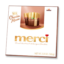 Finest assortment of European chocolates