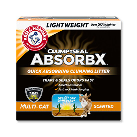 Lightweight Quick-Absorbing Clumping Cat Litter